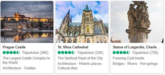 Prague Attractions