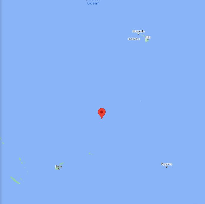 Kiribati Border Map