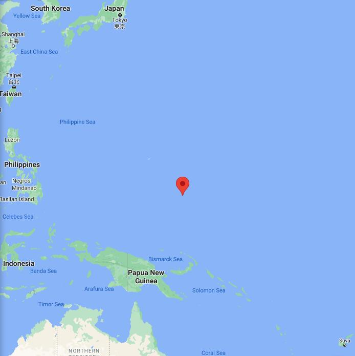 Micronesia Border Map