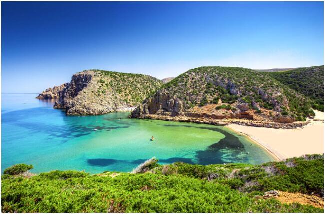 Sardinia has numerous stunning beaches