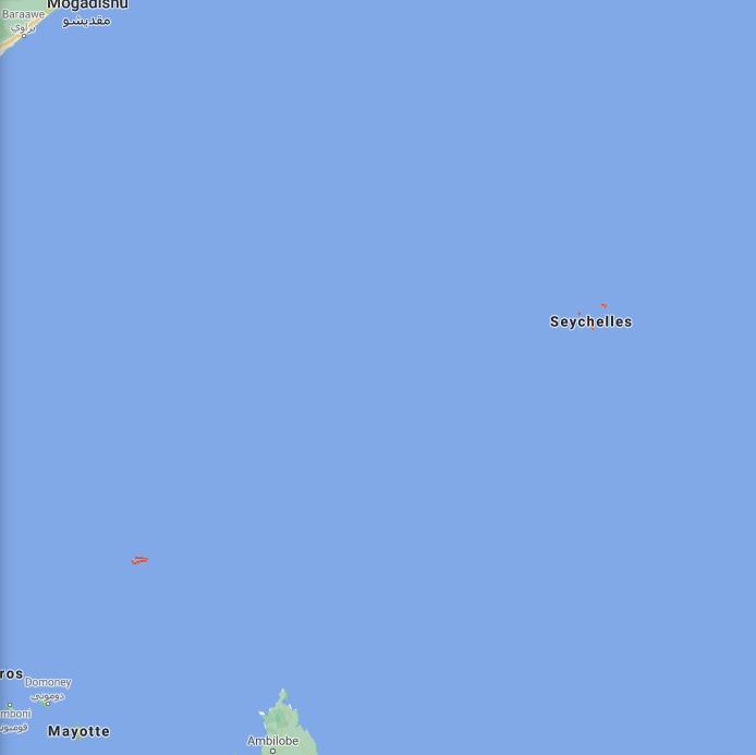 Seychelles Border Map