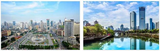 Sichuan city of Chengdu